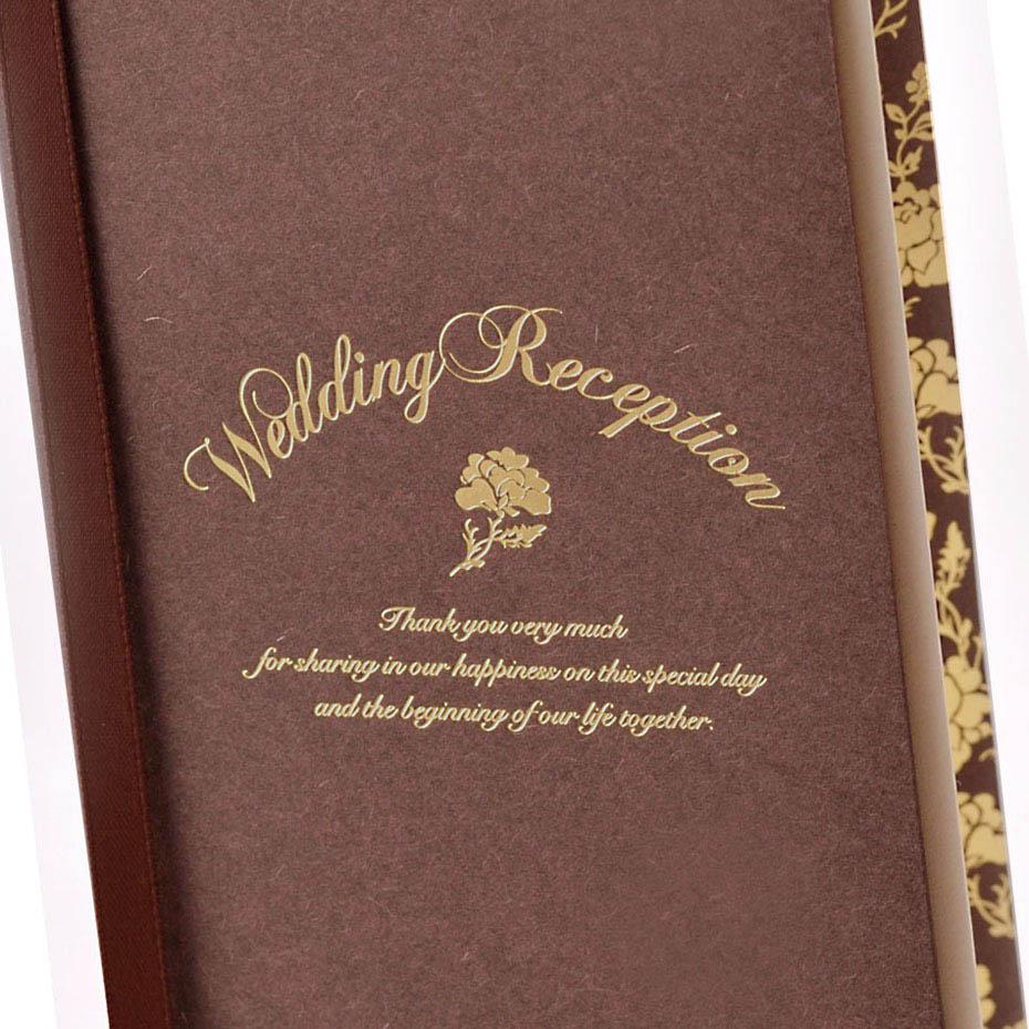 結婚式・披露宴の席次表、ロージーショコラ